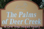 sign for The Palms