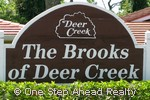 sign for The Brooks