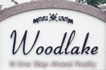sign for Woodlake