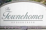 sign for The Townehomes